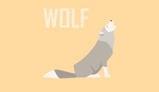 Barking wolf